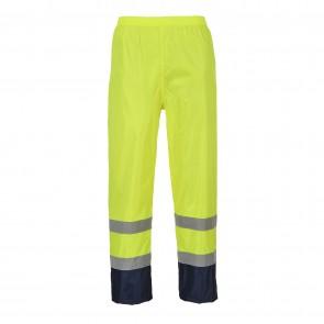 Pantalon de pluie Haute-Visibilité bicolore Portwest