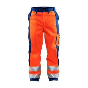 Pantalon de travail haute visibilité Blaklader polycoton 300g