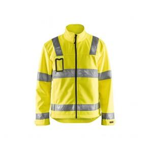 Veste softshell haute visibilité Blaklader jaune