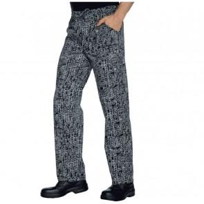 Pantalon de cuisine Isacco San Francisco 100% coton