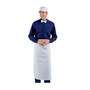 Tablier de cuisine sans poches Isacco Doc 90 x 100cm