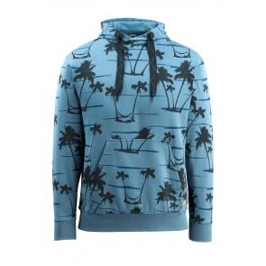 Sweat capuche Woodside MASCOT bleu-gris