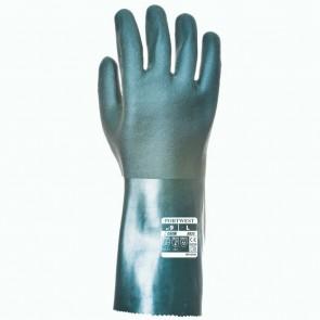 Gants PVC 35cm double trempage taille 10/XL Portwest