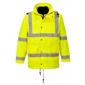Parka de travail haute visibilité 3 en 1 Portwest jaune