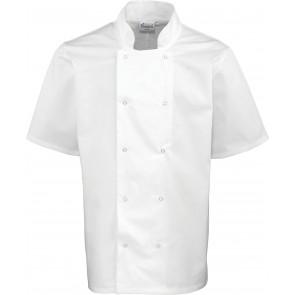 Veste de cuisinier Studded manches courtes