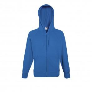 Sweat-shirt léger à capuche zippé Fruit Of The Loom Lightweight Hooded