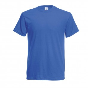 Tee Shirt Fruit of the Loom Full Cut Bleu royal