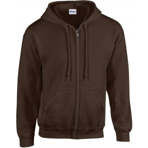 Sweat-shirt homme zippé à capuche Gildan Heavy Blend