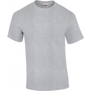 T-shirt manches courtes Gildan ultra cotton gris