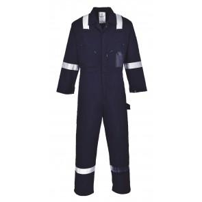 Combinaison de travail 100% coton Portwest Iona Bleu marine