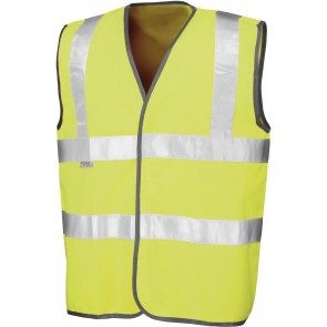 Gilet de sécurité adulte Result - jaune fluo