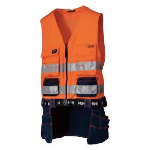 Gilet haute-visibilité BRIDGEWATER helly hansen orange