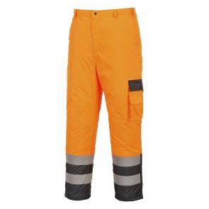 Pantalon Haute Visibilité Multipoche Portwest Doublé Contraste