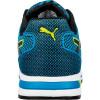 Basket de sécurité basse Puma 100% non métallique Blaze Knit Low S1P Bleu / Noir Dos