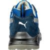Basket de sécurité basse Puma Omni Blue Low S1P SRC Bleu Dos