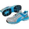 Basket de sécurité basse Puma Xcite Grey Low S1P ESD HRO SRC - Bleu/Gris