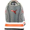 Baskets de sécurité basses Puma Xelerate Knit S1P HRO SRC Gris / Rouge Dos