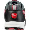 Baskets de sécurité basses femme Puma Stream Red S1 ESD HRO SRC Noir / Rouge Dos