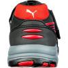 Baskets de sécurité basses femme Spring S1 ESD HRO SRC Noir / Rouge Dos