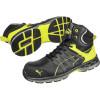 Baskets de sécurité hautes Puma Velocity 2.0 Yellow Mid S3 ESD HRO SRC - Noir/jaune