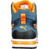 Baskets de sécurité montantes Puma Crosstwist S3 HRO SRC Bleu / Orange Dos