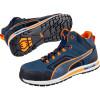 Baskets de sécurité montantes Puma Crosstwist S3 HRO SRC - Bleu / Orange