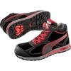 Baskets de sécurité montantes Puma Fulltwist S3 HRO SRC - Noir / Rouge