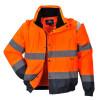 Blouson 2 en 1 Haute visibilité Portwest - Orange / Marine