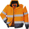 Blouson 2 en 1 Haute visibilité Portwest - Orange / Marine 1