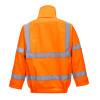 Blouson de travail haute visibilité imperméable Portwest BOMBER EXTREME - Blouson de travail haute visibilité Portwest BOMBER EXTREME orange dos