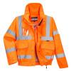 Blouson de travail haute visibilité imperméable Portwest BOMBER EXTREME - Orange