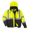 Blouson haute visibilité Premium 2-in-1 Portwest - Jaune / Noir
