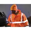 Bonnet Haute Visibilité Dickies Thinsulate porté orange