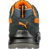 Chaussure de sécurité basse Puma Omni Orange Low S1P SRC Gris / Orange Dos