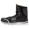 Chaussures de sécurité montantes Helly Hansen OSLO HIGH S1P SRC 100% sans métal - Chaussure de sécurité montante Helly Hansen Oslo High S1P SRC 100% san métal Noir / Orange côté 1