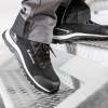 Chaussures de sécurité Albatros ULTIMATE IMPULSE BLACK LOW S1P ESD HRO SRA noir porté 1