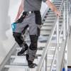 Chaussures de sécurité Albatros ULTIMATE IMPULSE BLACK LOW S1P ESD HRO SRA noir porté 2