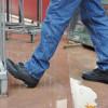 Chaussures de sécurité montantes Lemaitre WORK S3 CI SRA - Chaussures de sécurité montantes Lemaitre Work S3 CI SRA Noir / Gris porté 1