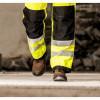 Chaussures de sécurité montantes Portwest Brodequin Mustang Steelite S3 Brun Porté