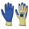 Gants anti-coupure Portwest GRIP LATEX COUPURE 3 - Jaune Bleu