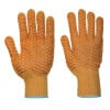 Gants de manutention Portwest CRISS CROSS PVC - Orange