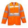 Gilet avec manches haute visibilité Portwest Glowtex Orange face