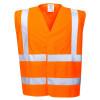 Gilet haute visibilité retardateur de flamme Portwest Bizflame EN ISO 14116 - Orange