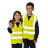 Gilet jaune haute visibilité enfant Portwest Jaune Porté