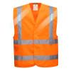 Gilet haute visibilité luminueux Portwest Vega LED - Orange