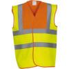 Gilet haute visibilité YOKO orange jaune