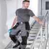 Pantalon de travail multi poches Albatros EXPERT 360° - Pantalon Albatros EXPERT 360° Noir / Gris porté