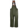 Pantalon de pluie à bretelles Helly Hansen STORM BIB vert armée dos