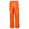 Pantalon de pluie étanche Helly Hansen GALE - Pantalon de pluie imperméable Helly Hansen GALE orange dos