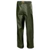 Pantalon de pluie étanche Helly Hansen GALE - Pantalon de pluie imperméable Helly Hansen GALE vert armée dos